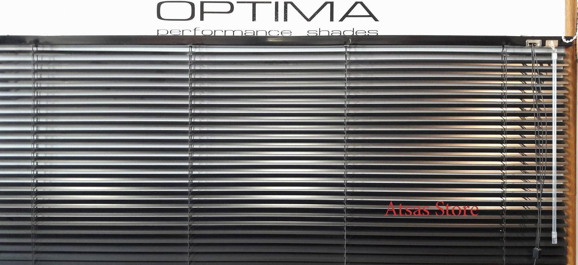 Περσίδες Οριζόντιες Αλουμινίου 25 mm