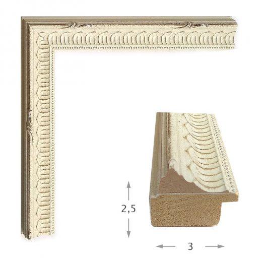 Κορνίζα Ντεκαπέ Πατίνα 624-23
