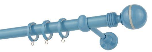 Κουρτινόβεργα CP79 Aquamarine - Grey Φ25 ZOGOMETAL