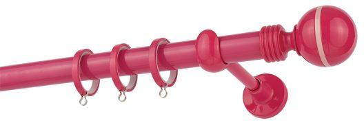 Κουρτινόβεργα CP79 Fuchsia - Pink Φ25 ZOGOMETAL